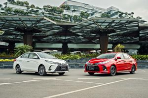 Toyota Vios 2021 ra mắt thị trường Việt Nam: có phiên bản thể thao, nâng cấp trang bị, giá tăng nhẹ
