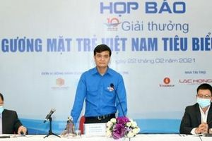 20 đề cử vào vòng bình chọn Giải thưởng Gương mặt trẻ Việt Nam tiêu biểu 2020