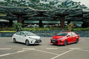 Toyota Vios 2021 ra mắt khách hàng Việt, giá từ 478 triệu đồng