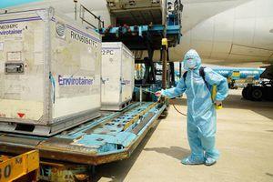 117.600 liều vaccine Covid-19 Astra Zeneca đầu tiên đã về đến Việt Nam