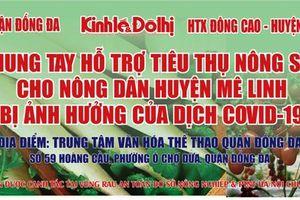 Báo Kinh tế & Đô thị hỗ trợ tiêu thụ nông sản cho bà con huyện Mê Linh