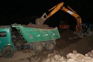Công an Sóc Trăng: Bắt quả tang 1 vụ khai thác đất trái phép