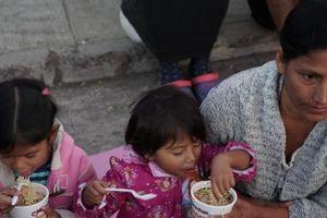 Số người thiếu đói ở khu vực Trung Mỹ tăng vọt