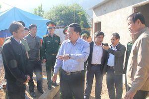 Quảng Nam phấn đấu hoàn thiện toàn bộ nhà ở vùng sạt lở núi trước mùa mưa