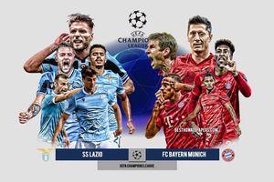 Trực tiếp Lazio 0-1 Bayern Munich: Lewandowski mở tỷ số sớm (H1)