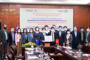 Việt Nam và New Zealand thắt chặt hợp tác trong lĩnh vực nông nghiệp