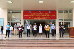 Hải Dương: 13 người ở Bệnh viện Dã chiến số 2 được công bố khỏi bệnh
