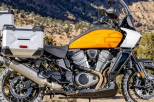 Mô tô du lịch mạo hiểm Harley-Davidson Pan America, giá 454 triệu