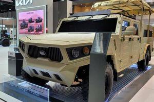KIA giới thiệu xe đổ bộ chiến thuật hạng nhẹ tại triển lãm quốc phòng