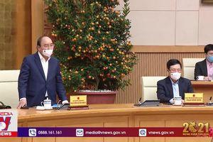 Thường trực Chính phủ họp về về phòng chống COVID-19