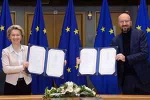Anh và EU kéo dài thời hạn phê chuẩn thỏa thuận hậu Brexit đến cuối tháng 4