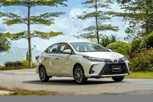 Giá lăn bánh xe Toyota Vios 2021