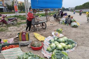 Yên Định (Thanh Hóa): Chợ cóc tự phát ngay cạnh đường Quốc lộ khiến người dân bức xúc
