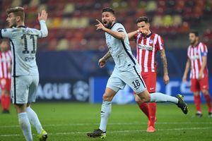 Kết quả Champions League: Giroud lập siêu phẩm, Chelsea đánh bại Atletico