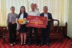 Tập đoàn Đất Xanh chung tay mang Tết đến cho bà con huyện Đức Hòa, Long An