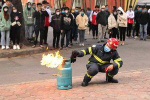 Để giảm thiểu sự cố cháy nổ gas