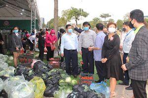 Người dân Hà Nội tiếp tục tích cực hỗ trợ nông dân tiêu thụ nông sản