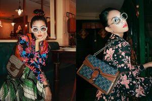 Hoa hậu Tiểu Vy tung bộ ảnh diện đồ Gucci đẹp xuất thần, đổi phong cách cực 'chất'