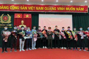 Công an quận Ba Đình:Gặp mặt tân binh thực hiện nghĩa vụ tham gia Công an nhân dân năm 2021