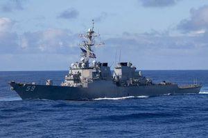 Việt Nam nói gì về hoạt động của tàu chiến Mỹ ở Biển Đông?