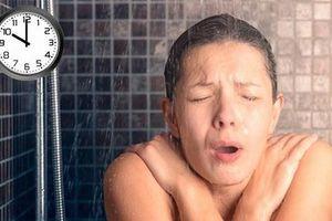 Điều cấm kỵ cần tránh ngay khi tắm kẻo rước họa vào thân