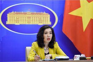 Việt Nam lên tiếng về tin tàu chiến Mỹ di chuyển ở Biển Đông