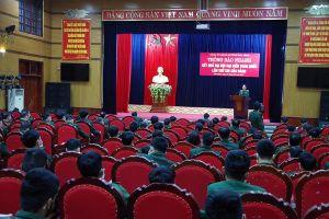 Đảng ủy Quân sự tỉnh Hòa Bình thông báo nhanh kết quả Đại hội lần thứ XIII của Đảng