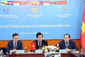 ASEAN Para Games lần thứ 11 khai mạc tại Hà Nội vào ngày 14/12