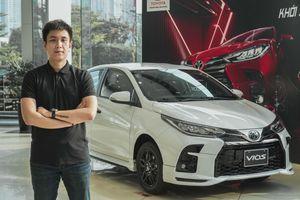 Đánh giá nhanh Toyota Vios GR-S giá 630 triệu đồng tại Việt Nam