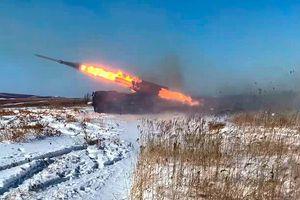 Pháo binh Nga tập trận quy mô lớn đầu năm