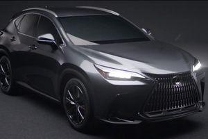 Lexus NX thế hệ mới lộ diện
