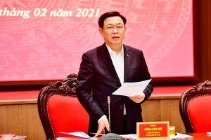 Bí thư Thành ủy Vương Đình Huệ: Sớm hoàn thiện để ban hành đồ án quy hoạch phân khu nội đô