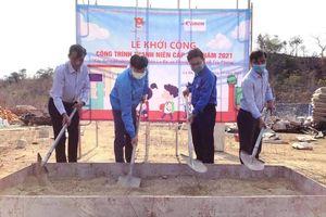 Xây dựng điểm trường trên cung đường Phan Dũng - Tà Năng