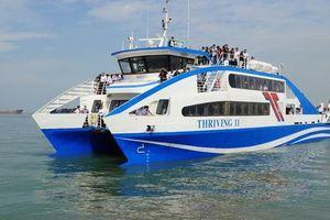 'Giật mình' với lượng khách đi phà cao tốc Cần Giờ - Vũng Tàu