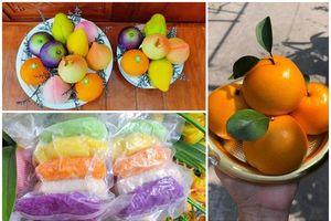 Bánh bao hình trái cây, xôi ngũ sắc 'hốt bạc' ngày Rằm Tháng Giêng