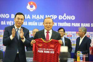 Thầy Park 'nên duyên' cùng bóng đá Việt Nam chỉ sau cuộc gặp 10 tiếng