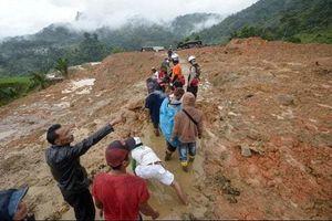 Indonesia: Lở đất khiến ít nhất 75 người thương vong