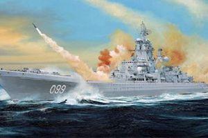 Sức mạnh 'bất diệt' tàu tuần dương lớn nhất thế giới của Nga