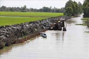 Cao điểm xâm nhập mặn ở đồng bằng sông Cửu Long từ ngày 25 - 28/2