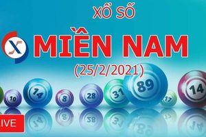 XSMN 25/2: Kết quả xổ số miền Nam hôm nay