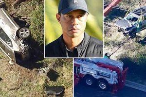 Golfer nổi tiếng Tiger Woods gặp tai nạn khi điều khiển SUV Genesis GV80