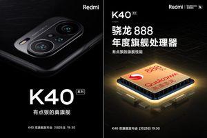 Redmi K40 và K40 Pro lộ diện: Chip Snapdragon 888