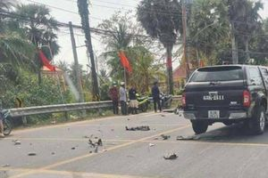 Trên đường về báo tin bố gặp TNGT, người đàn ông bị xe bán tải tông tử vong