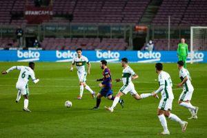 Messi thăng hoa, Barca thắng 'giải khát' trước Elche