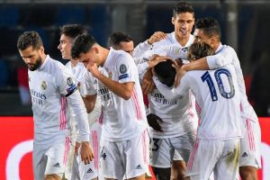Ferland Mendy ghi siêu phẩm, Real Madrid nhọc nhằn đánh bại Atalanta