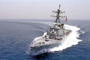 Trung Quốc tố tàu Mỹ đi qua eo biển Đài Loan là 'phá hoại hòa bình khu vực'