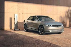 Hyundai 'chào sân' thị trường xe điện bằng mẫu SUV Ioniq 5