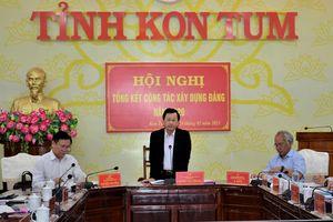 Kon Tum: Tổng kết công tác xây dựng Đảng năm 2020