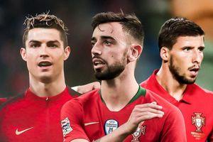 Chiều sâu ấn tượng của tuyển Bồ Đào Nha