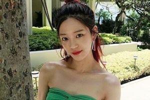 Lee Yoo Bi bị chấn thương trên phim trường